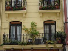Balcony in Bilbao, Spain #gabrielaaufreisen #http://reiseblog.gabrielaaufreisen.de/genuesse-in-bilbao/ #bilbao