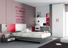 1000 images about dormitorios juveniles on pinterest - Habitaciones juveniles modernas ...