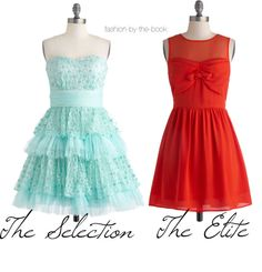 The Selection trilogy inspired dresses ...