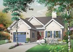 This traditional design floor plan is 1393 sq ft and has 3 bedrooms and has 1 bathrooms. Drummond House Plans, Sunken Living Room, First Home Buyer, Walk In Pantry, Traditional Design, Country Style, Foyer, Bungalow, Shed
