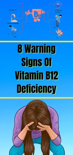 Mineral deficiencies are more common than vitamin deficiencies, statistics shows that one in four adults deals with lack of vitamin B12. In this article we will cover the symptoms and causes of vitamin B12 deficiency, plus you will get a few easy tips on how to regulate that. Health And Beauty Tips, Health Advice, Health And Wellness, Health Fitness, B12 Deficiency, Natural Products, Beauty Products, Vitamins For Energy, Medical Weight Loss
