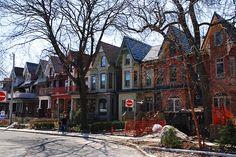 """Toronto """"Bay and Gable"""" houses"""