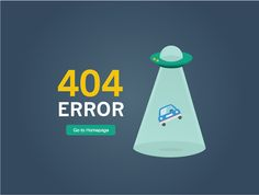 designed this error page for one of our product (reservation parking website) in our company. Ux Designer, 404 Pages, Gif 2, Error Page, Web Design Projects, Web Design Inspiration, Design Development, Flat Design, Page Design