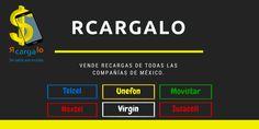 Telcel, Nextel, Movistar, Unefon, Iusacell y Virgin. Vende recargas desde tu negocio.