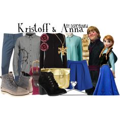 Inspired by Kristoff and Anna from Frozen