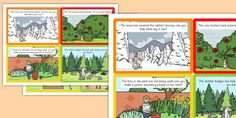 Percy The Park Keeper Role Play Challenge Cards