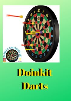 Doinkit Darts Darts, Toys, Activity Toys, Clearance Toys, Gaming, Games, Dart Flights, Toy, Beanie Boos