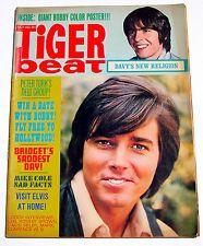 TIGER BEAT Teen Magazine July 1969 Bobby Sherman/Mark Lindsay/Mike Cole/Sajid+