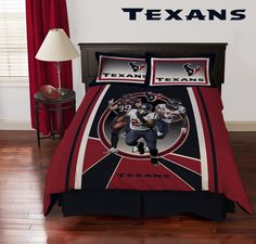 Houston Texans Collage Comforter