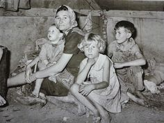 Dust Bowl People | Dust Bowl Family