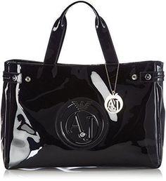 0a68663ff Comprar Ofertas de Armani Jeans Shoes & Bags DE 0529155 - Shopper para  mujer, color negro (nero - black 12), talla 38x28x11 cm (B x H x T) barato.