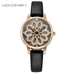 KOVONSH 360 Degree Rotation Dial Women Watches Fashion Jewels Mini Lady Watch Dress Women Watch Luxury Quartz Wrist Watches Gift From Touchy Style Outfit Accessories ( Yellow ) Cheap Watches For Men, Cool Watches, Wrist Watches, Black Watches, Ladies Watches, Stylish Watches, Skeleton Watches, Simple Jewelry, Watch Sale