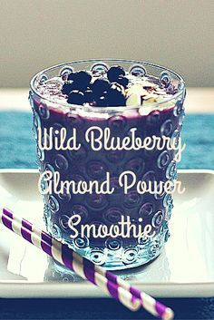 What pairs well with turmeric and flaxseed? A: A Wild Blueberry smoothie, of course!  |  New #WildYourSmoothie recipe from @danielleomar today! ——> Wild Blueberry Almond Power Smoothie