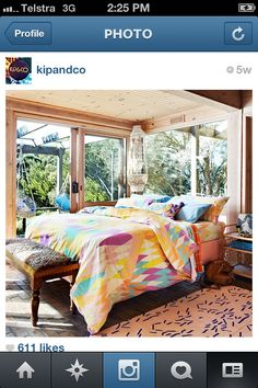 Croc pastel bedding by Kip & co Australia