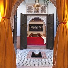 The Opulent Riad Farnatchi, Marrakech, Morocco
