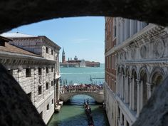 INSIDE OUT // Taken from within the Bridge of Sighs // Venice // © Eddy Van Bogaert