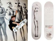 daniel josefsohn skateboard decks front