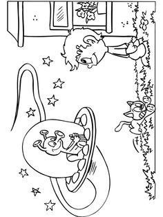 1000 images about anniversaire extra terrestre planete - Soucoupe volante dessin ...
