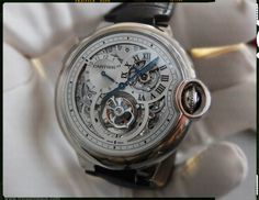 Cartier Ballon Bleu Tourbillon 2nd timezone regulator
