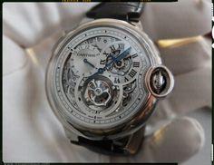 Cartier Ballon Bleu Tourbillon 2nd timezone regulator
