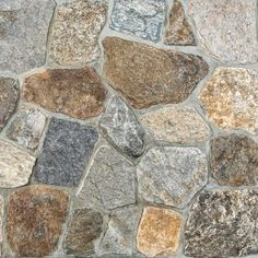 Stone veneers or stone tiles give you the look of high-end masonry work. Stone veneer over the wall creates more unique look with variation of design and color. Stone veneer wall is quite interesting as additional feature at your home. Thin Stone Veneer, Natural Stone Veneer, Natural Stones, Rock Veneer, Masonry Work, Rock Fireplaces, Farmhouse Fireplace, Wall Cladding, Flagstone
