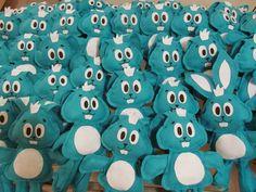 Lembrancinhas Turma da Mônica - Atelier Pequeno Caleb, Toys, Birthday, Alice, Cartoon, Fiesta Decorations, Birthday Party Ideas, Cute Art, Needlepoint