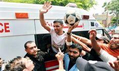 Mahmoud Sarsak liberato