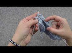 Orjinal bir örgü örneği: Hint Kaneviçesi (Çapraz Örgü) Örneği - YouTube