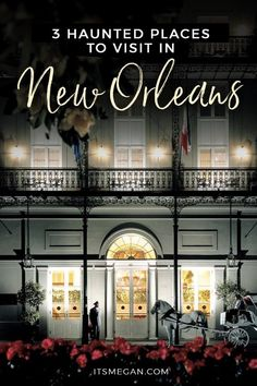 3 Haunted Places to Visit in New Orleans New Orleans Travel Guide, New Orleans Vacation, Visit New Orleans, New Orleans Louisiana, Vacation Places, Vacation Trips, Places To Travel, Places To Visit, Vacation Spots