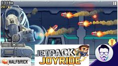 تحميل لعبة المغامرات والسرعة jetpack joyride اللاندرويد  رابط واحد مباشر