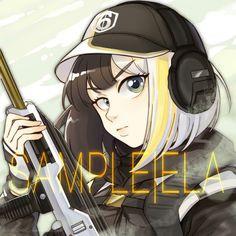 Ela Rainbow Six Siege Anime, Rainbow Six Siege Memes, Rainbow 6 Seige, Tom Clancy's Rainbow Six, Rainbow Art, Ela Bosak, Character Concept, Character Design, Fanart
