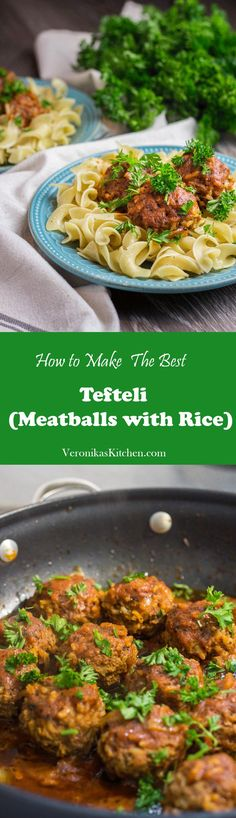 Meatballs (Tefteli) | Veronika's Kitchen