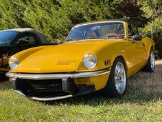 Triumph Spitfire, Yellow Car, Cars, Vehicles, Autos, Car, Car, Automobile, Vehicle