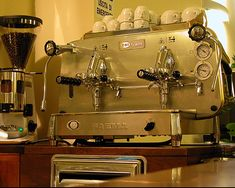 italian coffee machine in Montefiascone