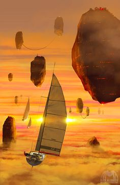 A Separate Reality: New Paintings of Dystopian Worlds by Alex Andreev