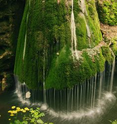 Waterfall in Romania