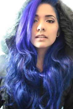 images naomi king hair - Google Search.  Check out her Sunset hair on you tube!  Love the purple and fuchsia she did too!  A girl can dream