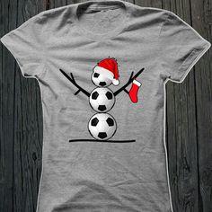 Soccer Christmas shirt