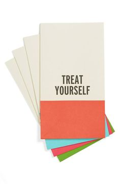 Treat yourself! Cute Kate Spade party favor bags.