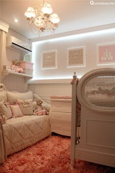 Enxoval de bebê luxuoso bege e rosa com ursinhos. Um enxoval elegante e delicado que é apaixonante.