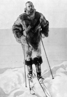On Dec 14 1911, the Norwegian explorer Roald Amundsen and his team became the first to reach the South Pole – narrowly beating the British team led by Captain Robert Scott   Picture: Illustrated London News