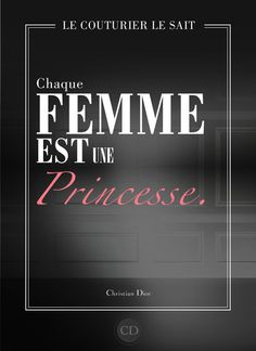 it says...every woman is a princess..;)