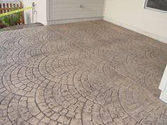 concrete stamping schroder concrete omaha ne - Alle De Garage En Beton Color