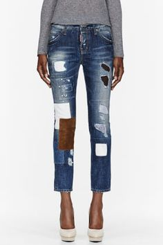 PATCHWORK JEANS my new pet peeve. This pair is  760. I wouldn t c59e7d96aab
