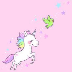 Kawaii unicorn.