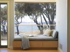 upholstered built in window seat