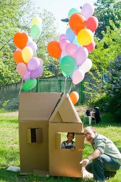 "Best Kids' Parties: ""Up!"" Balloon Party My Party #disneyside"