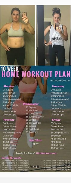 Full Body Workouts, Body Workout At Home, At Home Workout Plan, Post Workout, At Home Workouts, Ab Workouts, Home Workout Beginner, 10 Week Workout Plan, Weight Workouts