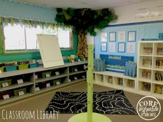 Classroom Tour 2013-14 School Year, I adore this cute third grade classroom- especially the tree in the cozy library!