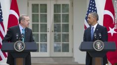 President Obama rejected suggestions the US was behind a failed coup in Turkey, voicing strong support for the government and Turkish President Recep Tayyip Erd